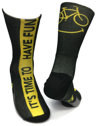 HAVE FUN SOCK - SUBLIMATED