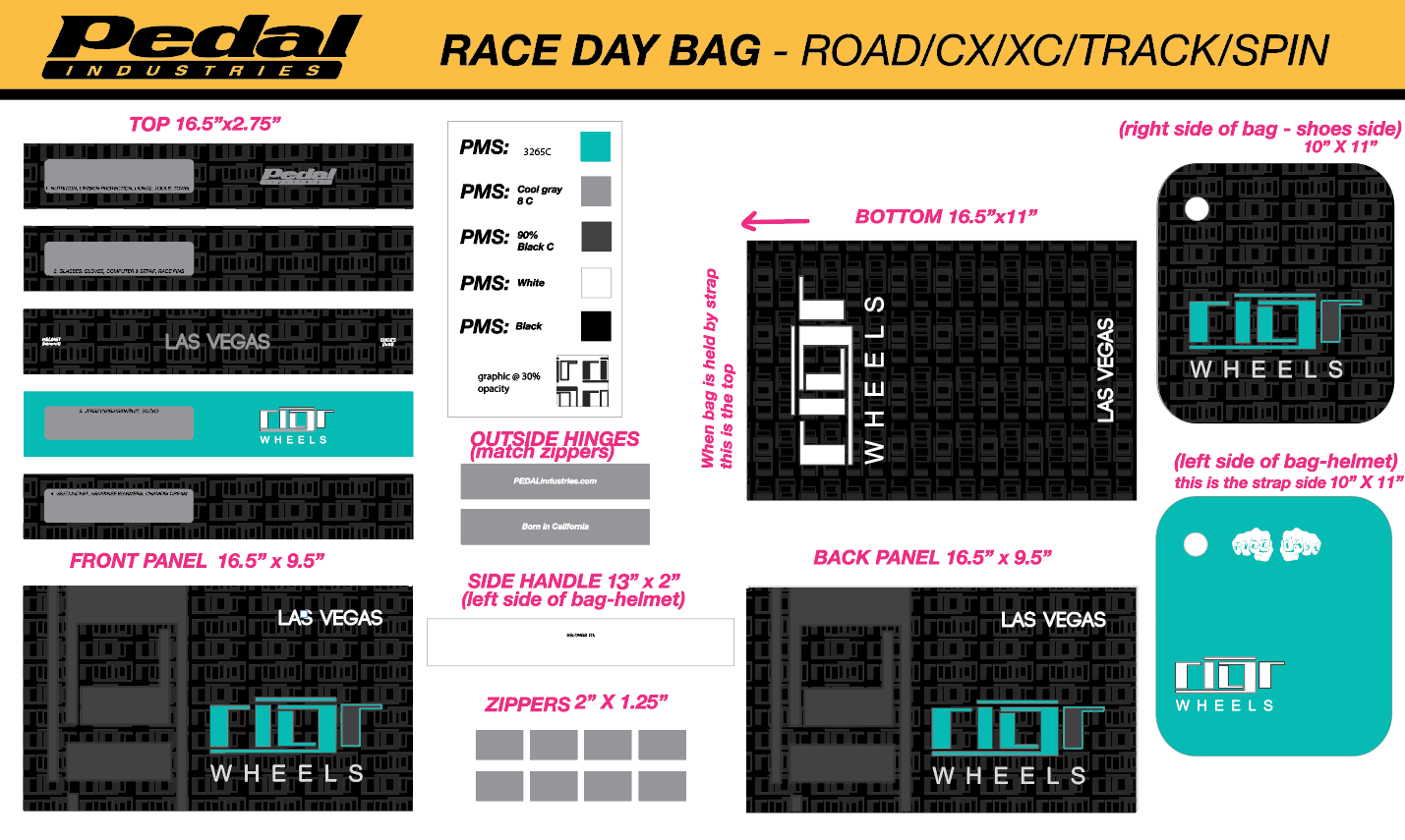 A-R RACEDAY BAG WOMENS