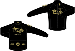 JT RACING BLACK LONG SLEEVE Fleece-lIned