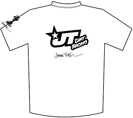 JT RACING T-Shirt WHITE