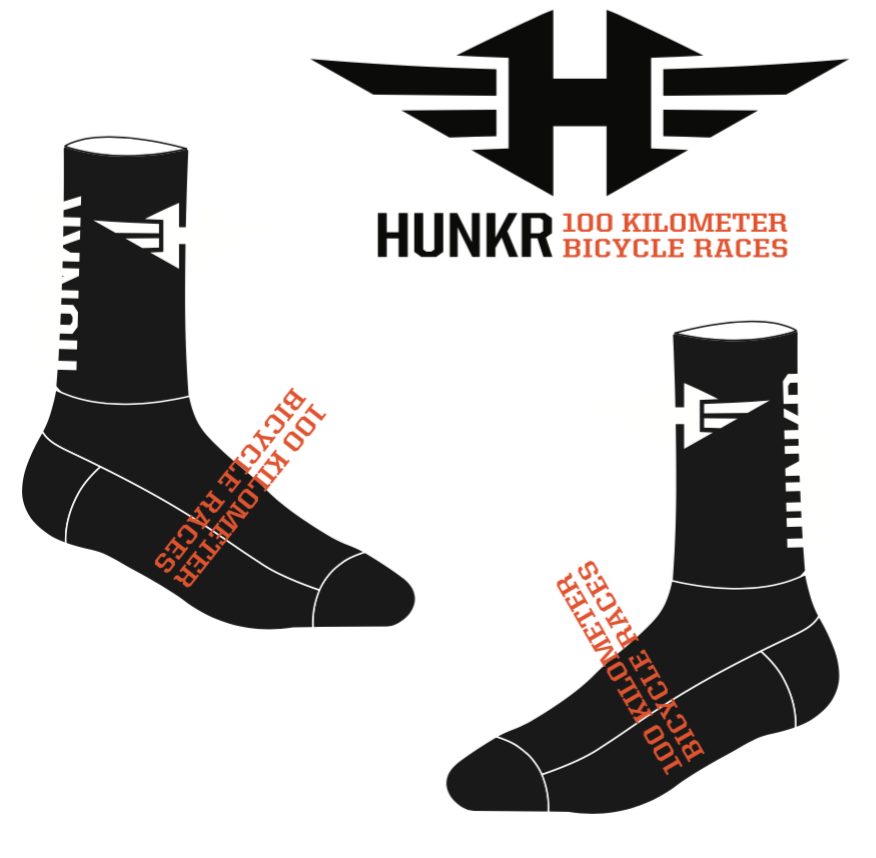 HUNKR Race Socks