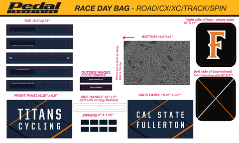CSUF RACEDAY BAG