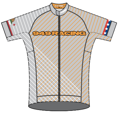 949 Racing SPEED JERSEY SHORT SLEEVE - Ships in about 4 weeks - GRAY