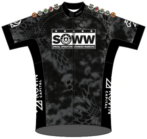 SOWW SPEED JERSEY BLACK '19 SHORT SLEEVE Ladies - Ships in about 4 weeks