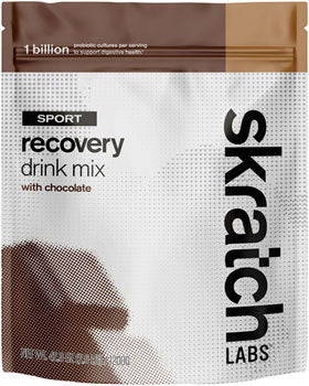 BikeShop -  Skratch Labs Sport Recovery Drink Mix - Chocolate, 24-Serving Resealable Pouch
