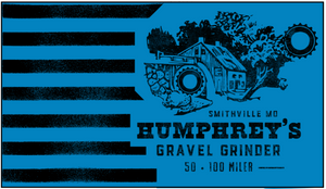 Humphrey's Gravel Grinder RACEDAY BAG - ships in about 3 weeks
