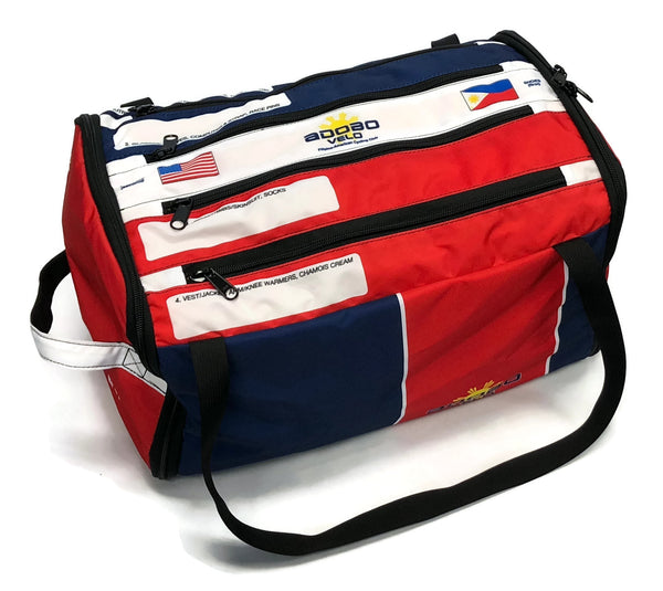 ADOBO VELO RACEDAY BAG 2.0 Classic is in stock - XL ships in about 3 weeks