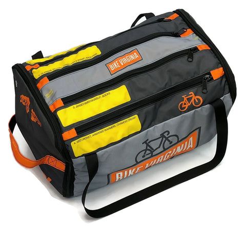 Bike Virginia RACEDAY BAG 2.0 - ships in about 3 weeks.