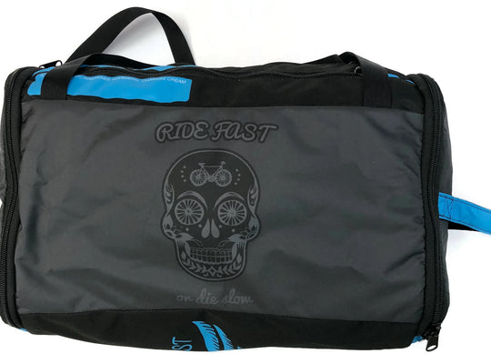 RIDE FAST OR DIE RaceDay Bag 2.0 BLUE