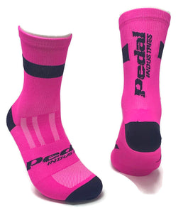 HiViz Pink KNITTED SOCK