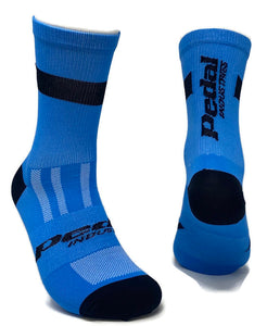 Primary Blue KNITTED SOCK