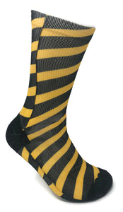 Caution SUBLIMATED SOCK