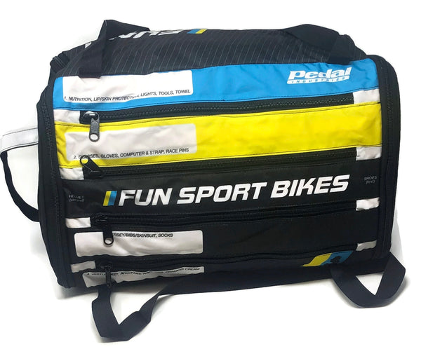 FunSport Bikes RACEDAY BAG 2018 - ships in about 3 weeks