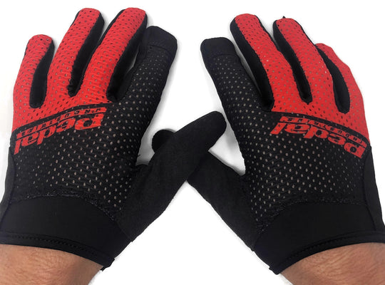 SuperLight Race Gloves - Red