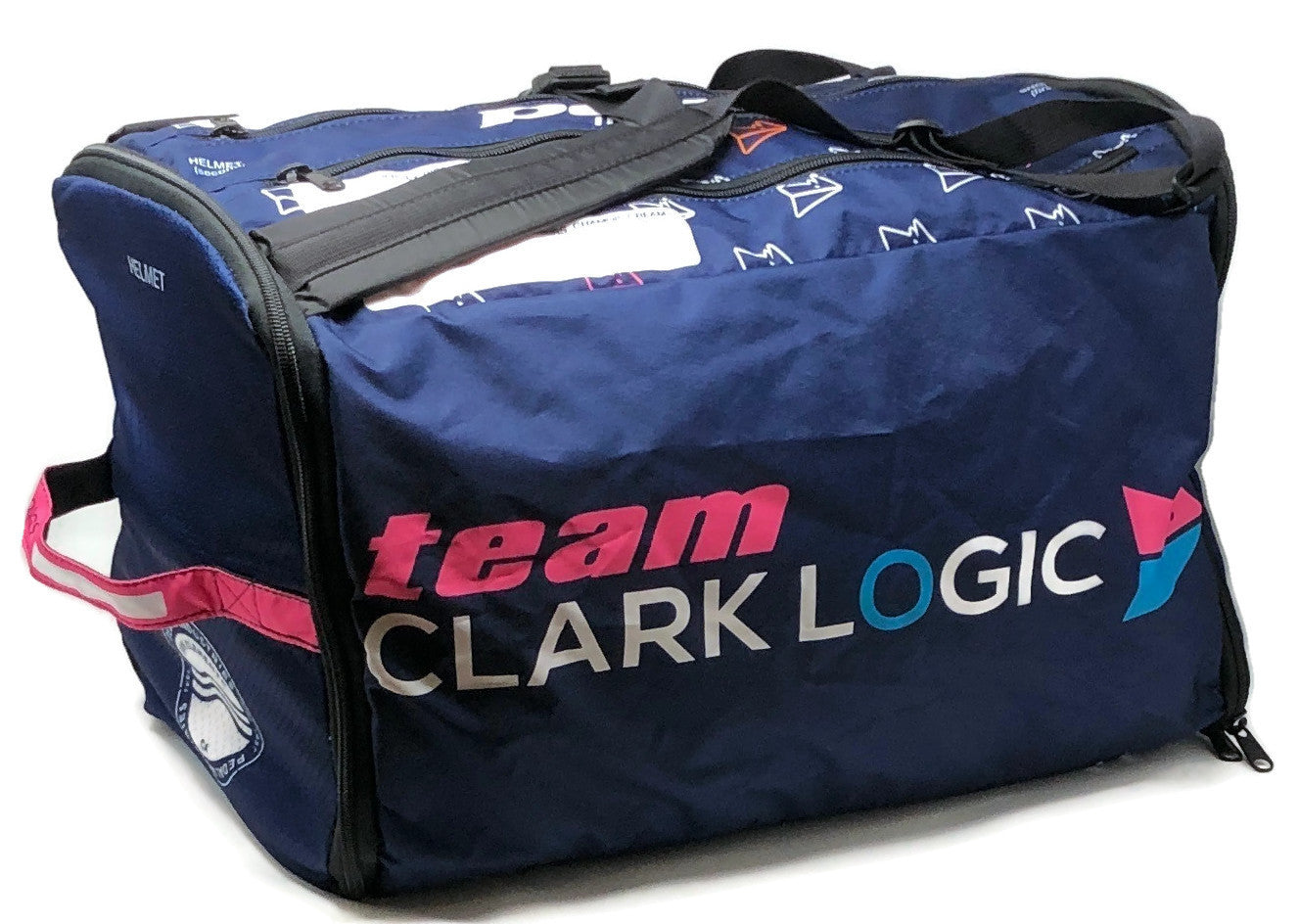 Team Clark Logic '19 RACEDAY BAG - ships in about 3 weeks
