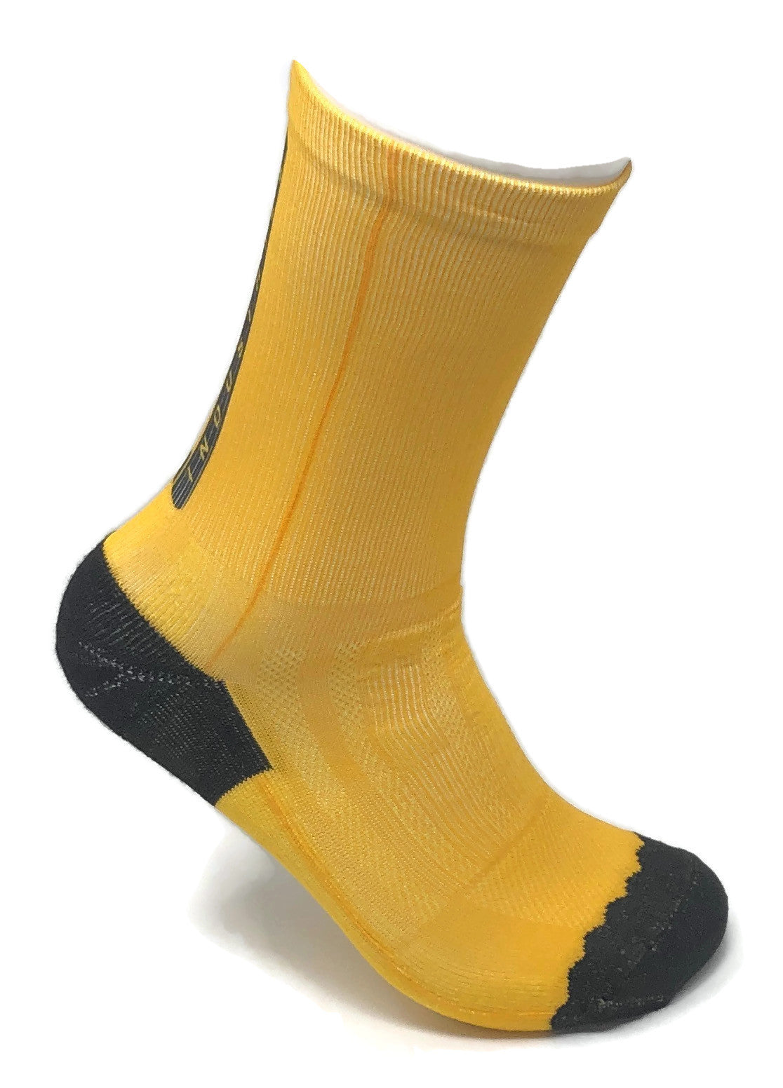 Pedal YELLOW SUBLIMATED SOCK
