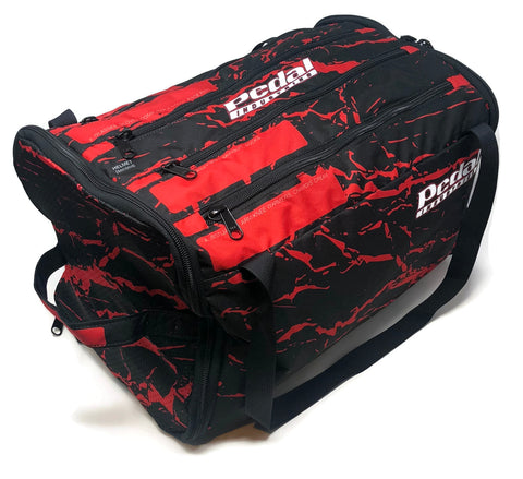 CUSTOM NAME  RaceDay Bag™ Splatter - RED