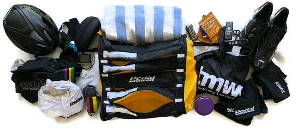 RaceDay Bag BLK - Bring Everything