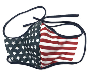 Patriotic Fleece Face Mask