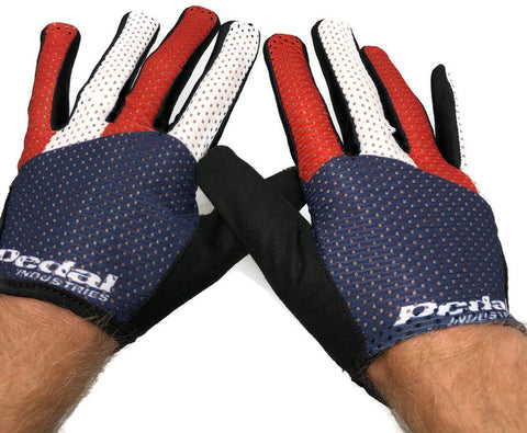 Patriotic SUPERLIGHT FULL-FINGER GLOVES