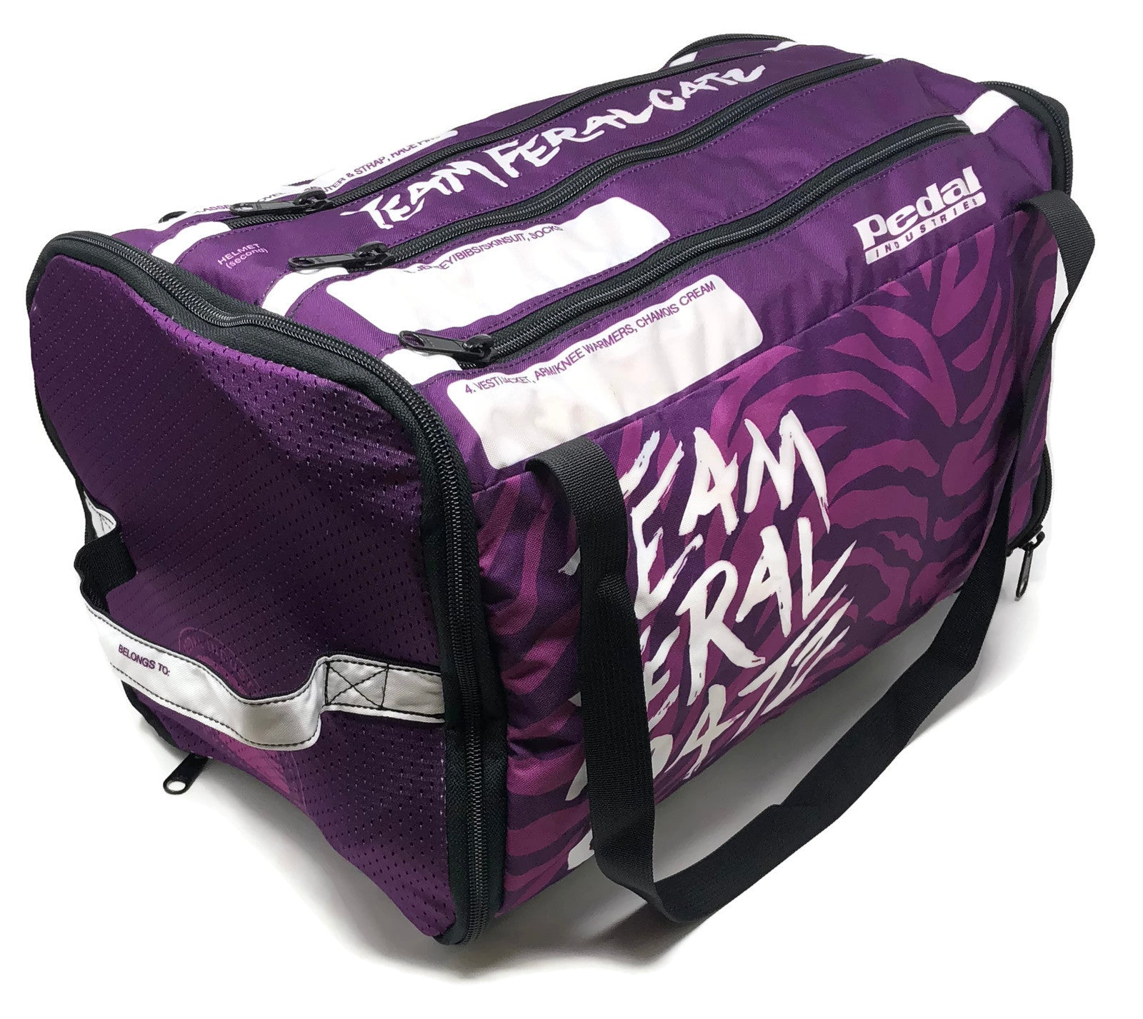 Team Feral Cats RACEDAY BAG - ships in about 3 weeks