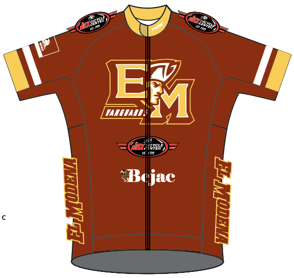 El Modena RACE JERSEY Short Sleeve - Ships In About 4 weeks