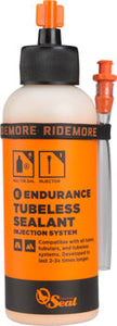 BikeShop - Orange Seal Endurance Tubeless Tire Sealant with Twist Lock Applicator - 4oz