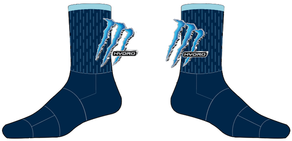 MONSTER HYDRATE THE BEAST sublimated sock