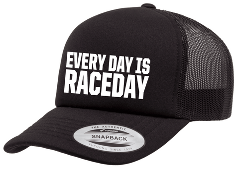 EVERY DAY IS RACEDAY Trucker Curved Bill Adjustable Hat