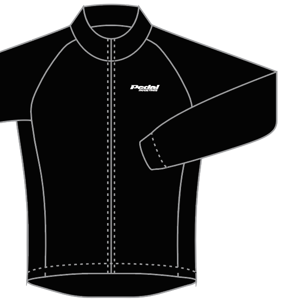 PEDAL industries KOM JACKET - Black