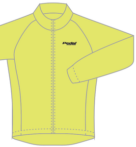 PEDAL industries KOM JACKET - HiViz