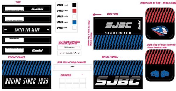 SJBC RACEDAY BAG - Ships in about 3 weeks