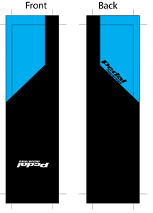 PEDALindustries 2020 Team Sock Blue