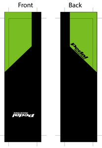 PEDALindustries 2020 Team Sock Green