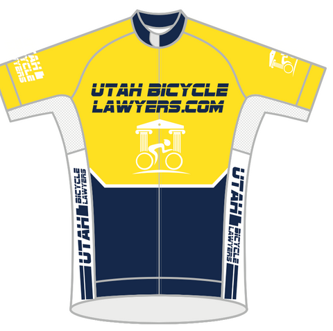Utah Bike Lawyers MENS  SPEED JERSEY SHORT SLEEVE