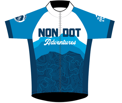Mens NON DOT SPEED JERSEY HALF SLEEVE NO COLLAR