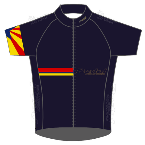 Navy Pedal AZ Ambassadors 05-2020 SPEED JERSEY SHORT SLEEVE
