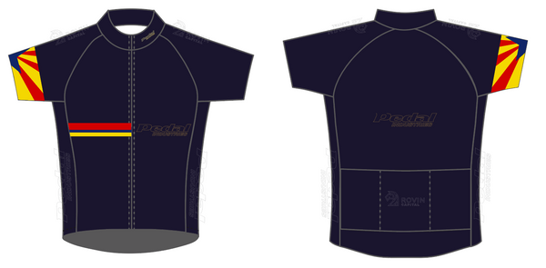Pedal AZ Ambassadors 05-2020 SPEED JERSEY SHORT SLEEVE
