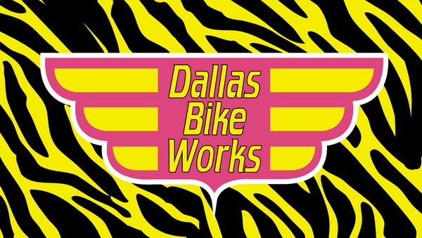 2020-06 Dallas Bike Works  YELLOW ZEBRA  RACEDAY BAG™