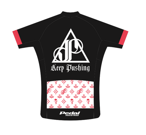 BLACK Keep Pushing Jose Of Incubus SPEED JERSEY SHORT SLEEVE