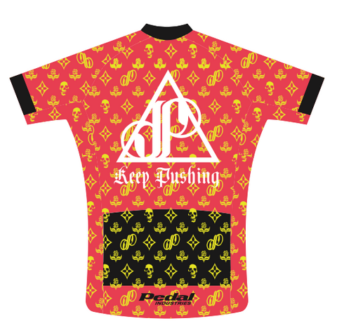 GOLD Keep Pushing Jose Of Incubus SPEED JERSEY SHORT SLEEVE