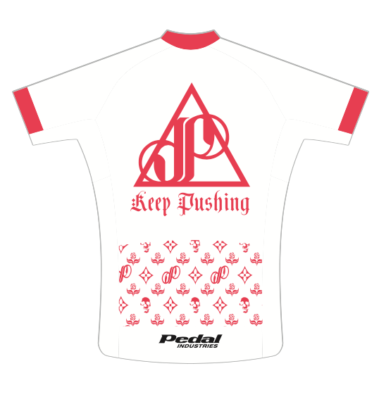WHITE Keep Pushing Jose Of Incubus SPEED JERSEY SHORT SLEEVE