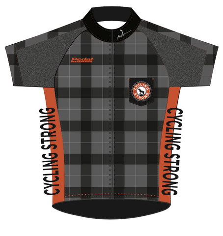 2015 Cycle Strong Dusty SPEED JERSEY SHORT SLEEVE