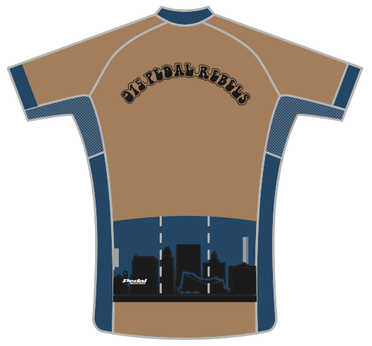 915 PEDAL REBELS SPEED JERSEY SHORT SLEEVE
