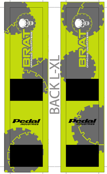 BRAT OFFROAD SUBLIMATED SOCK