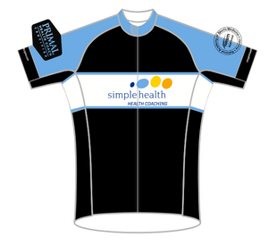 BLUE Simple HealthSPEED JERSEY SHORT SLEEVE