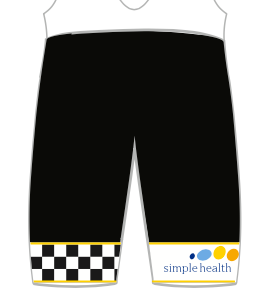 LADIES YELLOW Simple Health PRO BIB