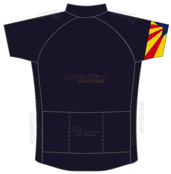 Navy AZ Ambassadors 05-2020 SPEED JERSEY HALF SLEEVE NO COLLAR
