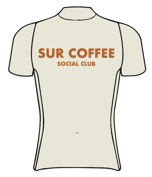 Sur Coffee SPEED JERSEY HALF SLEEVE NO COLLAR