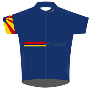 Electric Blue Pedal AZ Ambassadors 05-2020 SPEED JERSEY HALF SLEEVE